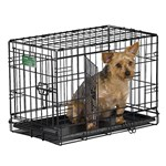 """MidWest I-1522DD iCrate Double Door Crate - 22""""L x 13""""W x 16""""H"""""""