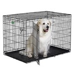 """MidWest I-1548DD iCrate Double Door Crate - 48""""L x 30""""W x 33""""H"""""""