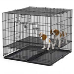 """midwest 248-05 Puppy Playpen W/plastic Pans And 1/2"""" Floor Grid"""