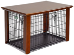 """""""Midwest 240CLFHC Brand New Includes One Year Warranty, The MidWest 240CLFHC easy-to-assemble crate cover simply slips over the top of your MidWest crate, providing protection for your pet while preventing your pet from harming the wood cover"""
