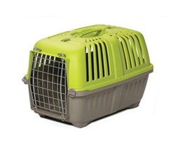 Travel Carriers midwest 22 inch spree plastic pet carrier green
