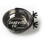 MidWest MW41 Snap'y Fit Water and Feed Bowl - 1 Qt.