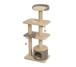 Cat Furniture midwest feline nuvo tower cat furniture mushroom