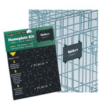 MidWest NP-01P Name Plate Kit for Crates