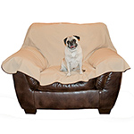 K&H Manufacturing KH-7876 Leather Lovers Chair Cover - Chocolate