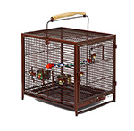 """Midwest Poquito Avian Hotel - Ruby Brand New Includes One Year Warranty, The Midwest Poquito Avian Hotel is a travel cage for birds"