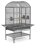 """""""Midwest Mediana Dome Top Bird Cage - Platinum Brand New Includes One Year Warranty, The MidWest Mediana Dome Top is a durable, high-end cage that provides your bird extra room to stretch and move around, for a more comfortable living space"""