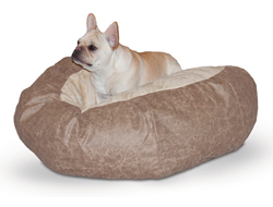 Heated Pet Beds kh cuddle ball large
