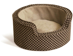 Heated Pet Beds kh round comft slf wrm small