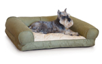 K&h Manufacturing Kh4293 Lazy Sofa Sleeper Large Tan